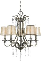 Bed Bath & Beyond Kendra 5-Light Chandelier in Mottled Silver