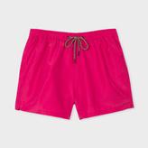 Paul Smith Men's Fuchsia Swim Shorts