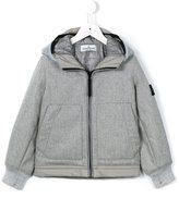 Stone Island Kids padded hooded jacket