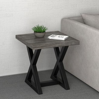 Union Rustic Bevin End Table Union Rustic