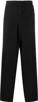 Giorgio Armani Pre-Owned 1990s Elasticated Waistband Trousers