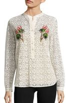 Stella McCartney Embroidered Lace Shirt