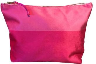 Chloe Croft London Limited Luxury Pink Velvet Cosmetic Bag