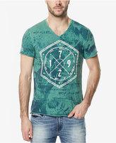 Buffalo David Bitton Men's Tie-Dyed Graphic-Print T-Shirt