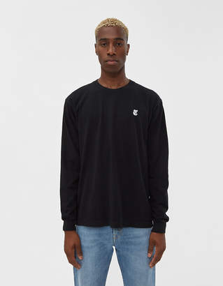 The New York Times L/S Truth Tee in Black