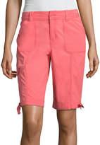 ST. JOHN'S BAY 11 Cargo Bermuda Shorts
