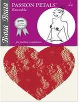Braza Reusable Lace Heart Concealing Passion Petals 1160