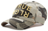 True Religion Camo Perforated Baseball Cap