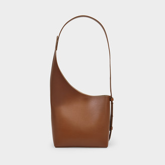Aesther Ekme Demi Lune Bag In Cognac Leather