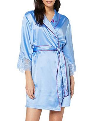 Sylvie Flirty Lingerie Women's Aza Kimono,Small