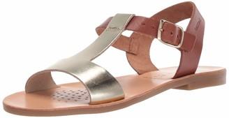 Geox Girls' J Sandal Violette C Open Toe