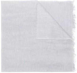 Fabiana Filippi Sequin-Striped Large Scarf