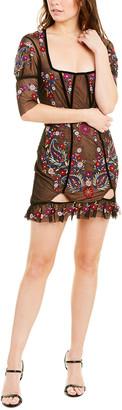 For Love & Lemons Ester Mini Dress