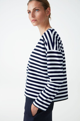 Cos Breton-Striped Top