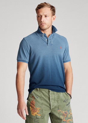 Ralph Lauren Custom Slim Fit Indigo Polo