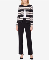 Tahari ASL Striped Pantsuit