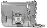 Proenza Schouler Hava Mirrored-leather Shoulder Bag - Silver