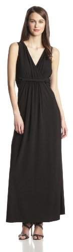 NY Collection Women's Sleeveless Surplice Dress with Twist Detail At Waist