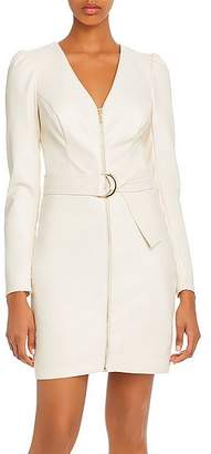 GUESS Josette Faux Leather Dress