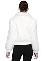 Short Eco Fur Coat