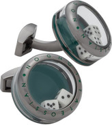 Tateossian PANORAMA DICES CUFFLINKS