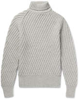 TOM FORD - Cashmere and Wool-Blend Rollneck Sweater