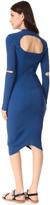 DKNY Dress with Sleeve Cutouts
