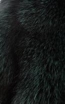 Katie Ermilio Fox Fur Coat