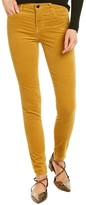 Thumbnail for your product : J Brand Maria Iconic Gold High-Rise Skinny Leg Jean
