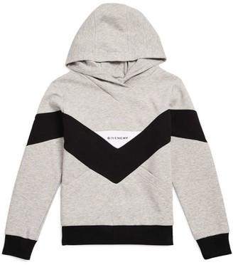 Givenchy Kids Colour-Block Logo Hoodie