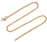 """Emily and Ashley 16-18"""" Baby Chain Necklace"""