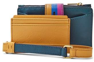 Fossil Willa Small Tab Wallet Twilight