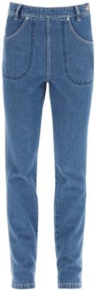 Kenzo Pocket Detail High-Rise Jeans