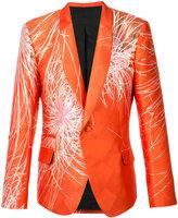 Haider Ackermann flower blazer - men - Polyester/Silk - 48
