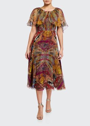 Etro Stained Glass Silk Dress