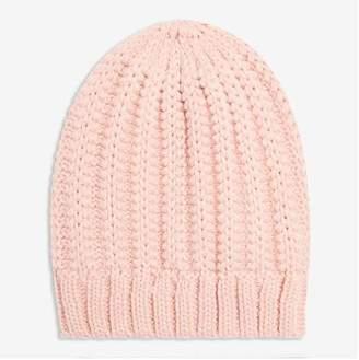 Joe Fresh Women's Ribbed Beanie, Pink (Size O/S)