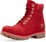 """Timberland 6"""" Premium Waterproof Hiking Boot, Red"""