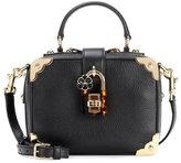 Dolce & Gabbana Embellished leather shoulder bag