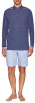 La Perla Cotton Night Shirt and Shorts Set