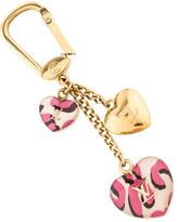 Louis Vuitton Leopard Heart Couer Bag Charm