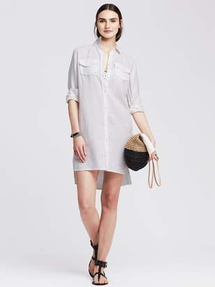 Banana Republic Linen Shirtdress