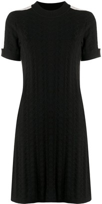 See by Chloe Geometric Knit Dress