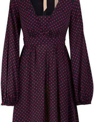 N°21 N 21 Short polka dot dress