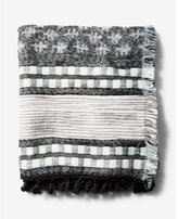 Express printed blanket scarf