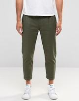 Selected Cropped Chinos with Stretch