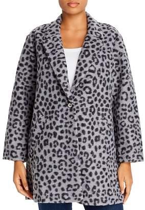 MICHAEL Michael Kors Brushed Leopard-Print Coat