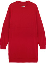 MM6 MAISON MARGIELA Oversized Jersey Dress - Crimson