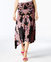 INC International Concepts Petite Convertible Printed Maxi Skirt, Created for Macy's