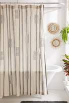 Urban Outfitters Imari Yarn-Dyed Shower Curtain