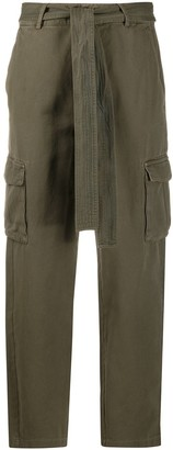 Anine Bing Tie Waist Trousers